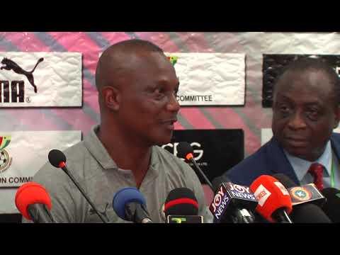 KWESI APPIAH EXPLAINS KWADWO ASAMOAH'S ABSENCE AND CHOICE OF PLAYERS - FULL POST MATCH