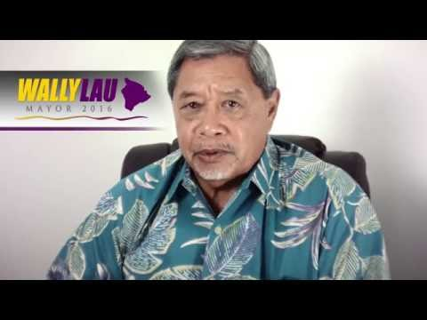 Wally Lau for Hawaii County Mayor, on Economy