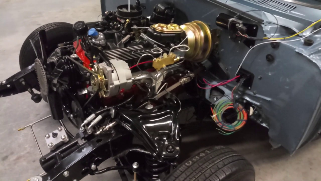 1964 impala american autowire engine harness - YouTubeYouTube