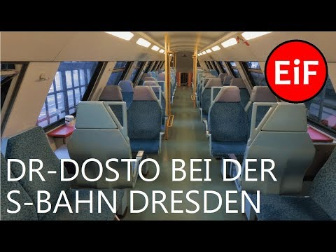 EiF | S-Bahn Dresden - DR-Doppelstockwagen auf der S3