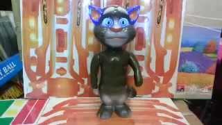 Говорящий кот Том, светящиеся ушки (27 см)