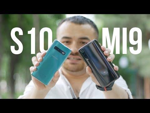 Xiaomi MI 9 vs Samsung Galaxy S10! Battle!