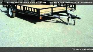 Load Trail Trailers 83x14' Atv Side Load Trailer  @ Yucaipa Auto & Trailer Ctr