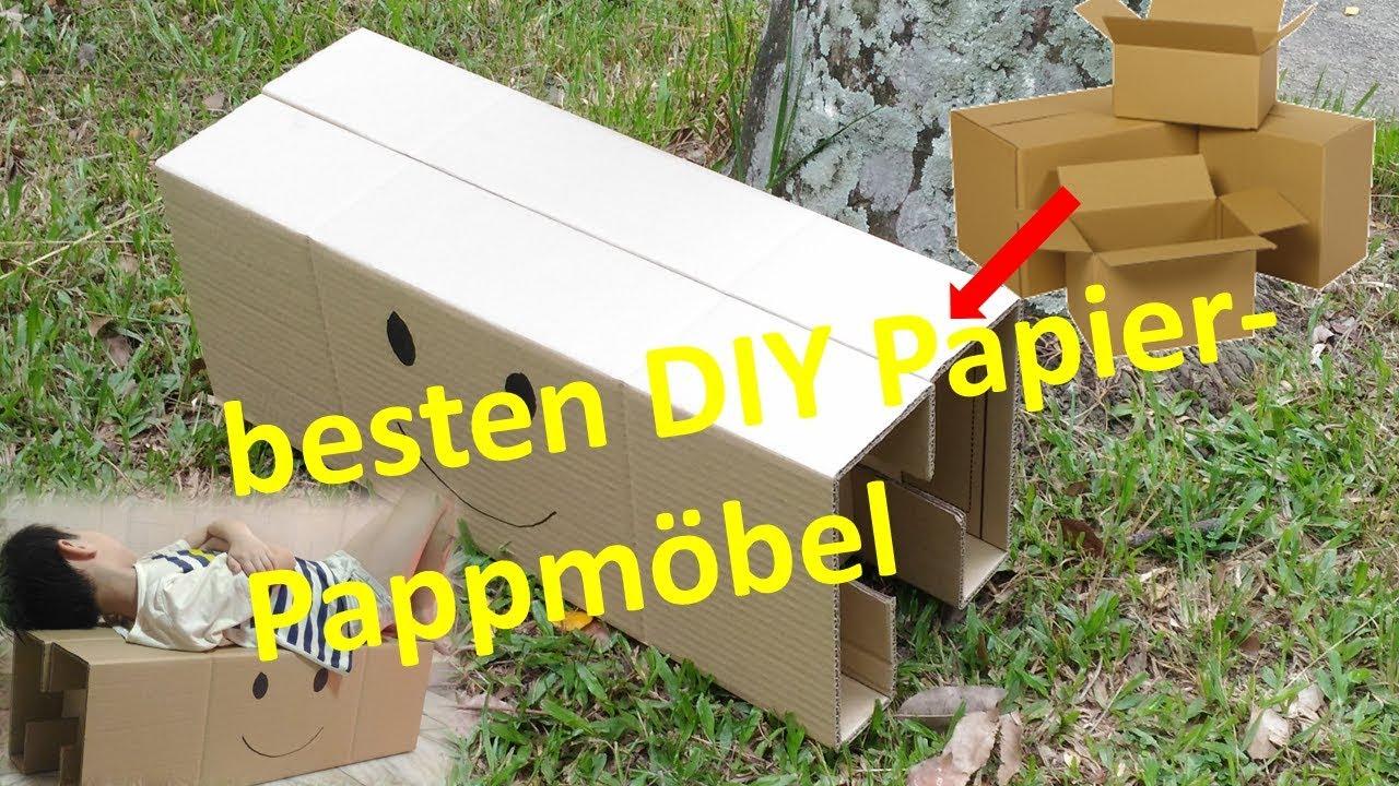 Geniale Bastelideen Aus Pappe Möbel Selbst Designen Einrichtungsideen Basteln Mit Karton Kartone