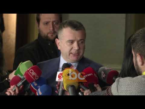 Basha dhe Balla deklarate per media pas seances ABC News Albania