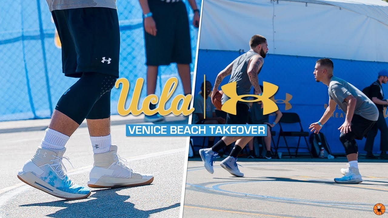 6d86e23d254c UA ICON DRIVE 4 HEAT!!! | UCLA x Under Armour Venice Beach Takeover ...