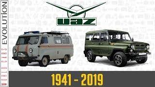 W.C.E - UAZ Evolution (1941 - 2019)