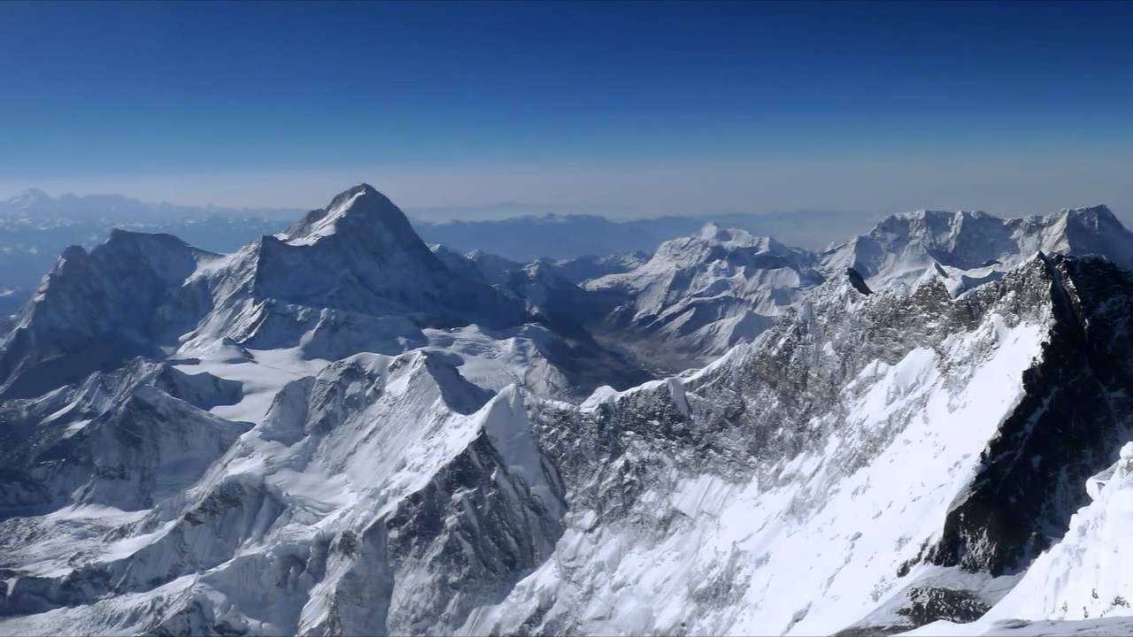 HD View from the top of Mount Everest - YouTube