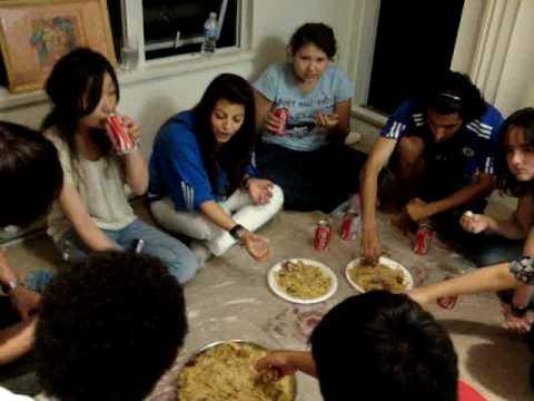 Food From Saudi Arabia Kapsa Youtube