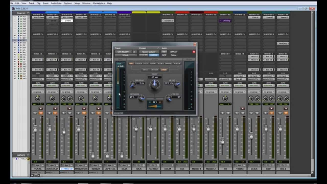how to put a video in pro tools