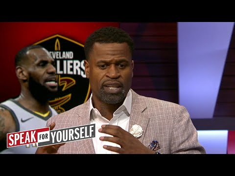 Stephen Jackson on LeBron's citicism of NBA officials protecting shooters | SPEAK FOR YOURSELF