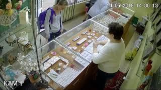 Воры в ювелирном магазине. Одесса