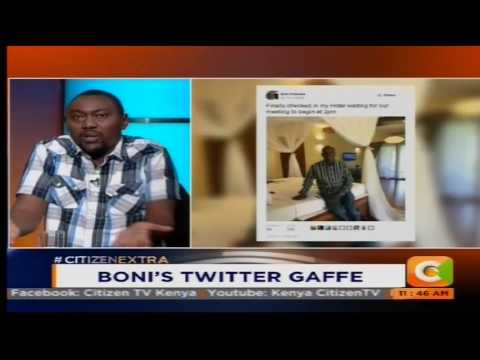 Senator Boni Khalwale troll on Social Media for Twitter post #NewsTrends