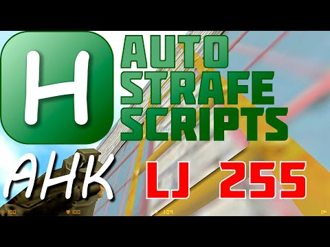 AUTO-STRAFE SCRIPT FOR HNS | AHK SCRIPTS FOR CS 1.6 | UNDETECTED