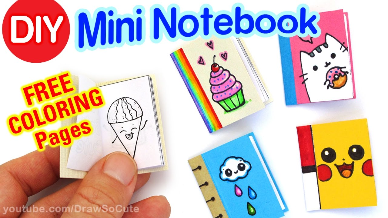 How To Make A Mini Notebook Easy