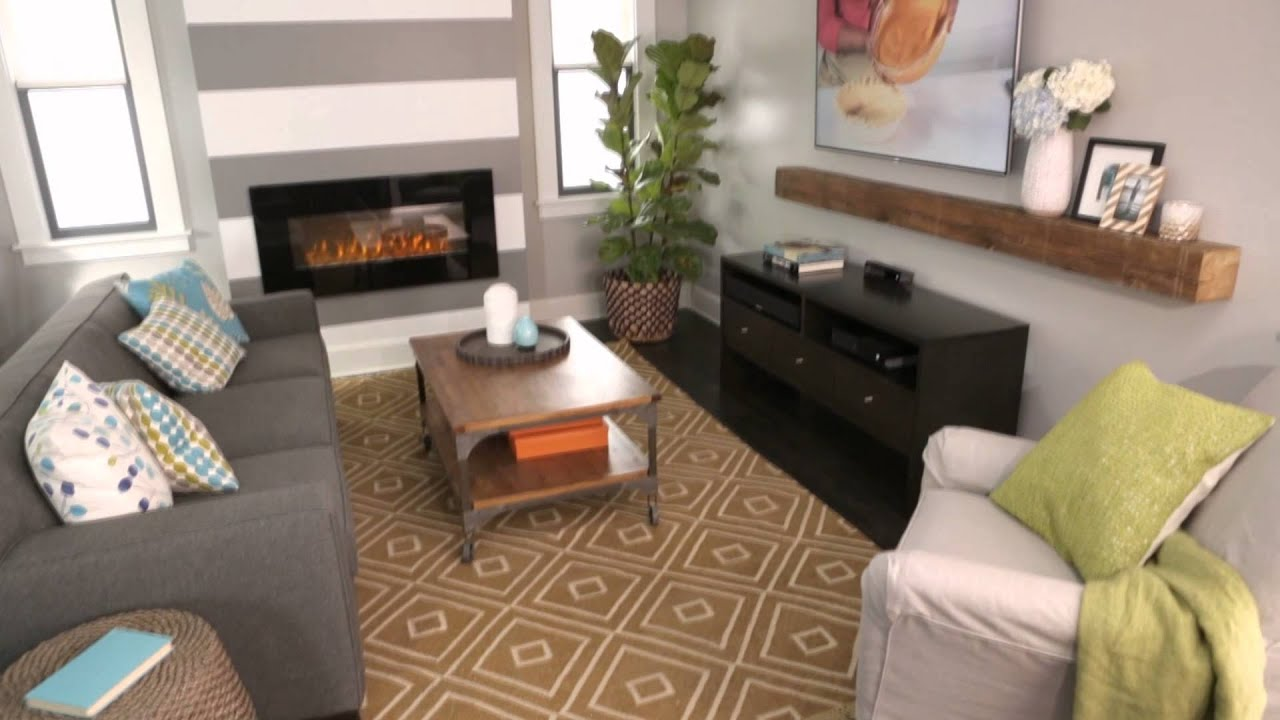 How to Decorate an Open Floor Plan - YouTube
