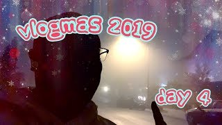 Gambar cover VLOGMAS 2019 DAY 4 -- NASTY WEATHER ISN'T GOING TO STOP ME!