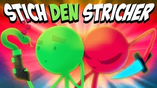 STICH den STRICHer 💀 HWSQ #042 ★ STICK FIGHT