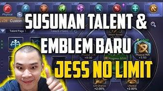 SUSUNAN TALENT & EMBLEM BARU by JESS NO LIMIT
