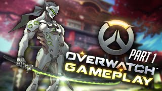 Overwatch Gameplay: No commentary (Part 1, All Characters)
