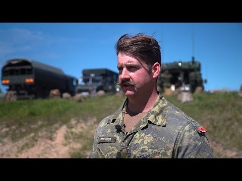 NATO battlegroup puts on capabilities demonstration