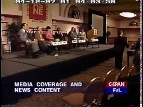 American Society of Newspaper Editors 1997 debate on The Future of Media Part 1