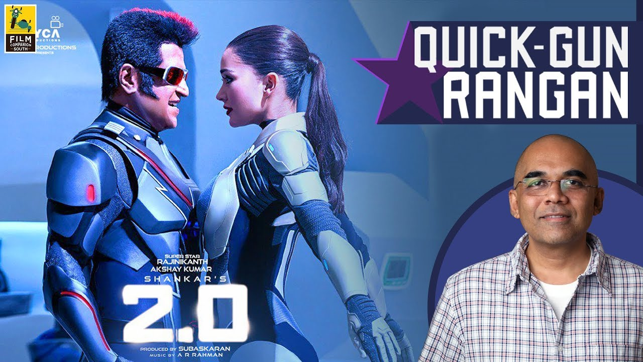 """2 0""""… Shankar's by-now tedious formula is saved by his imagination"""