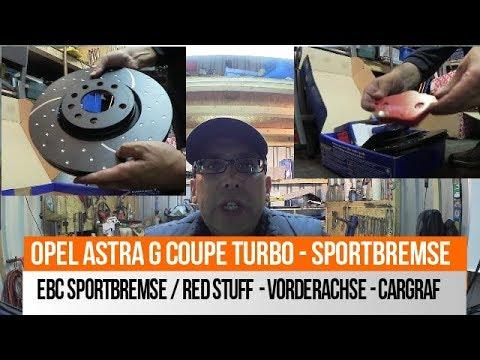 EBC RED STUFF - VORDERACHSE - Bremsklötze Und Scheiben - Astra G Coupe
