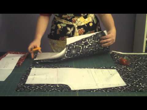 Learn to Sew 101 series - Bài 3 - Cắt các mảnh