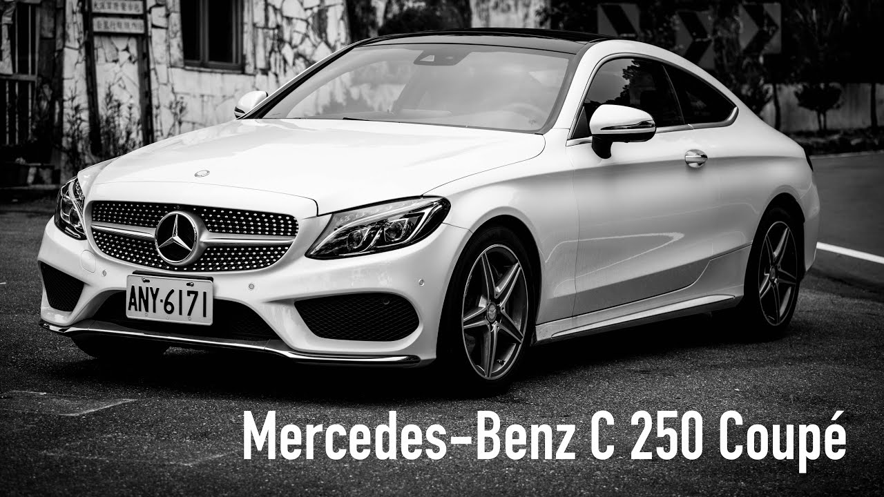 Mercedes C Class Coupe >> Mercedes-Benz C-Class Coupe 雙門勁車 試駕- 廖怡塵【全民瘋車Bar】30 - YouTube
