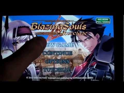 Blazing Souls Accelate (Android) - Promotion video