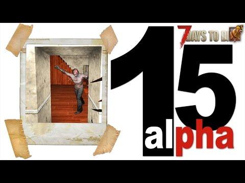 7 Days To Die (15 Alpha) ► (19день) Ловушка для зомби с клеткой. Рецепта на минибайк так и нет.