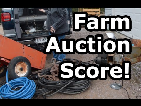 We Scored BIG at a Farm Auction!