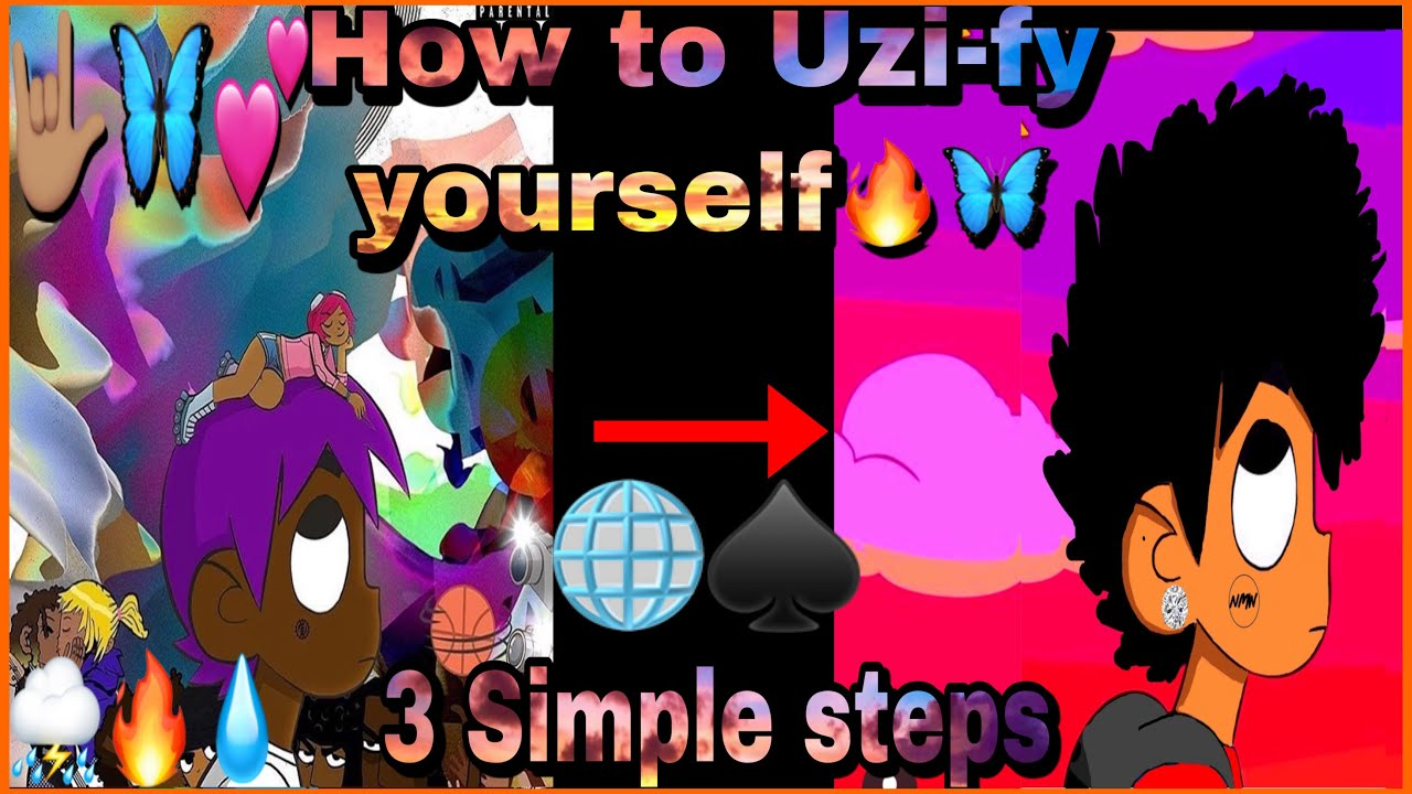 How To Make Your Own Lil Uzi Cover Art 3 Steps Youtube If you're looking for the best lil uzi wallpapers then wallpapertag is the place to be. how to make your own lil uzi cover art 3 steps