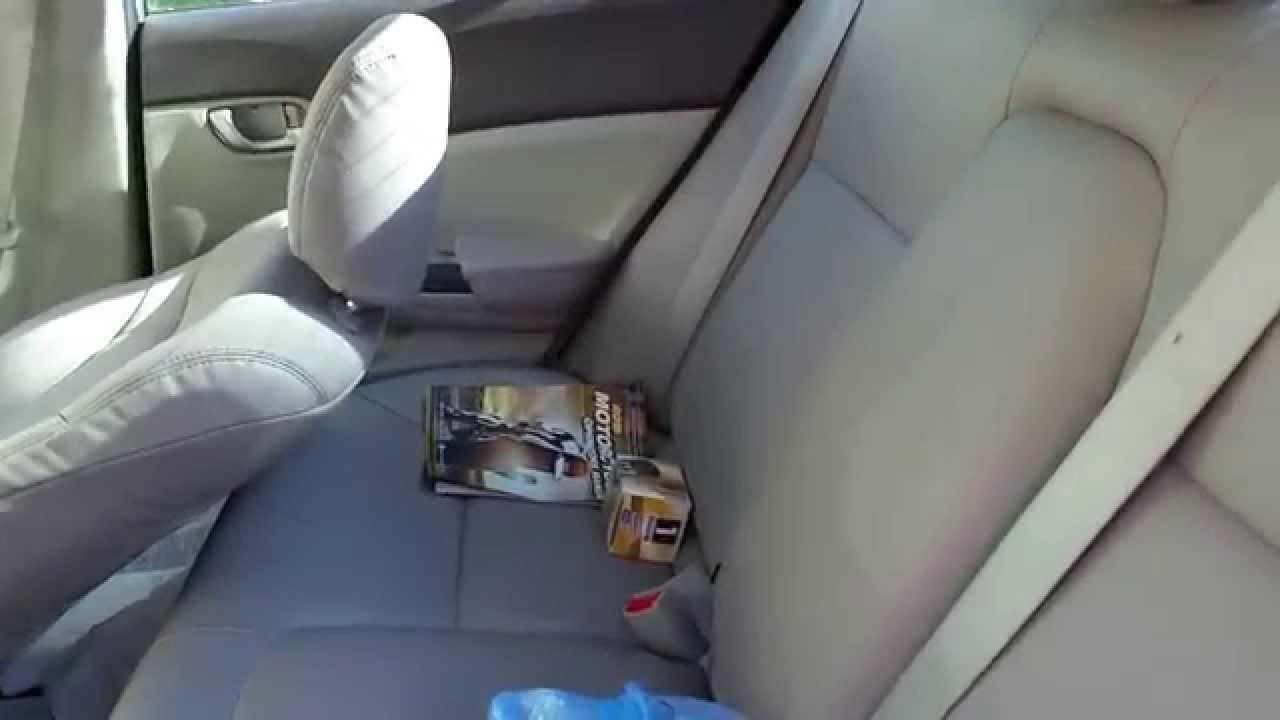 2012 Honda Civic LX Custom Katskin Seat Covers Update