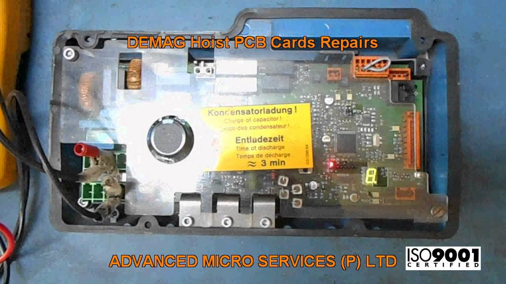 demag hoist pcb cards repairs  advanced micro services pvt