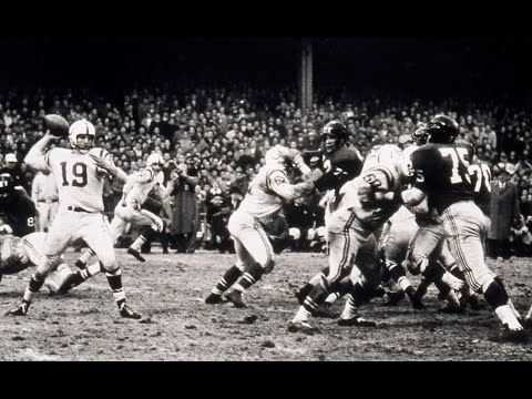 'The Greatest Game Ever Played' 1958 NFL Championship: Colts vs. Giants