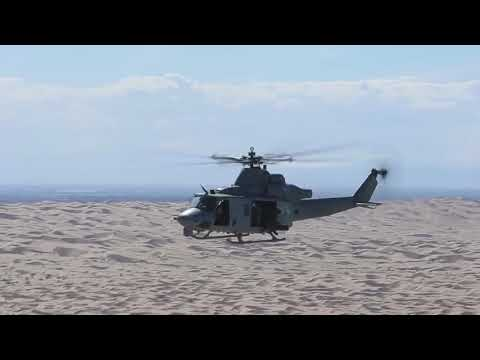 Insanely Powerful Air Support Provided by US Aircraft and Helicopters During Training Exercice