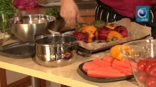 2010 06 05   Салат из запеченного болгарского перца с имбирем