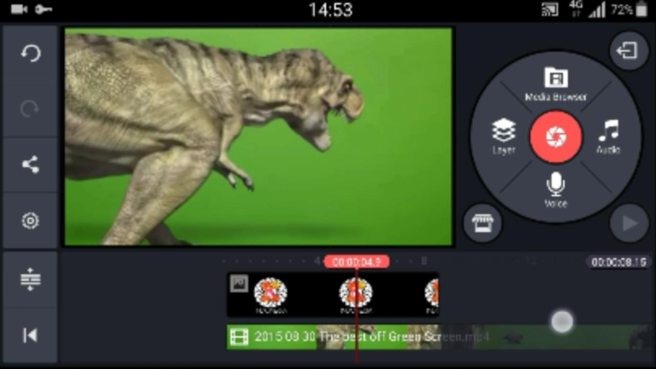 Video Editor, Cara menghilangkan GreenScreen di Android ...