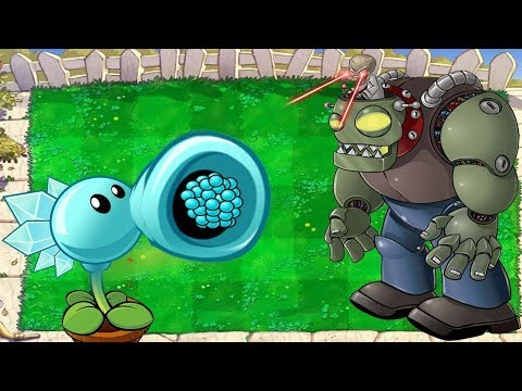 Plants Vs Zombies Battlez Minigames Repeater Vs 999 Paper Zombie Christmas PVZ