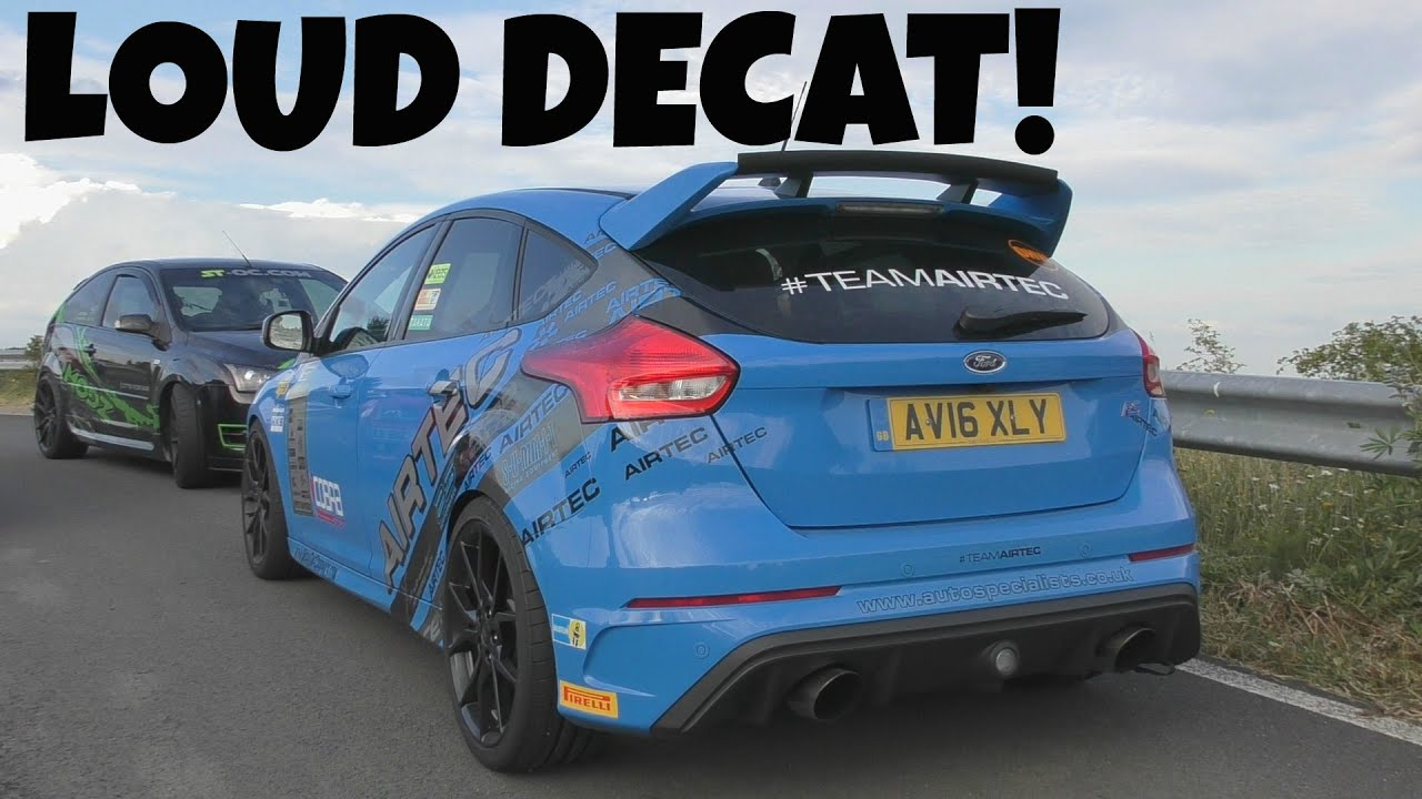 2016 ford focus rs milltek exhaust sounds