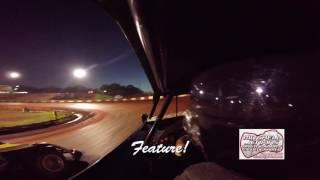 Alan Brewer In-Car Dixie Speedway 5/13/17!