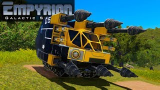 FIRST DRILLING HOVER VESSEL! | Empyrion Galactic Survival | Let's Play Gameplay | S15E08