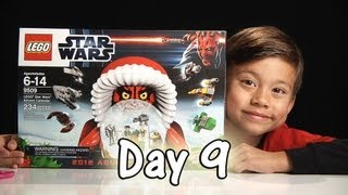 Day 9 LEGO STAR WARS Advent Calendar Review Set 9509 - 2012 -  Stop Motion & FREE CODE
