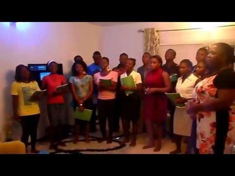 Green Chamber Chorale(GCC) sings Oluwa by Benafa Zitu in a practice session