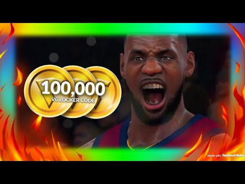 NBA 2K18 - IM GIVING 100,000 VC TO RANDOM PEOPLE WHO FOLLOW THESE RULES!!! (100K VC FOR FREE 🔥)