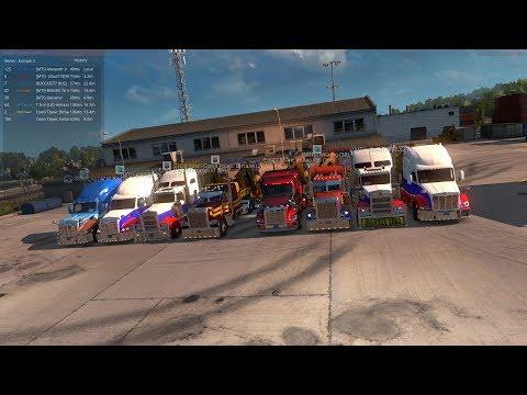 13/IX Открытый Конвой по American Truck Simulator от MEGA TRANS