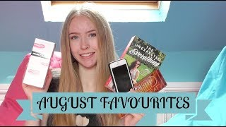 AUGUST FAVOURITES || Amie Liane