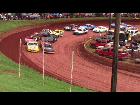 Winder Barrow Speedway Stock Four Cylinders A's 7/21/18
